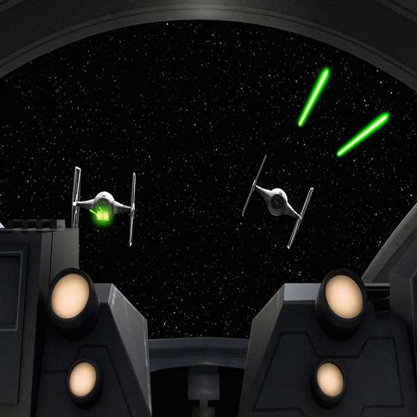 Star Wars Tie Fighter Asthromech Hacheur