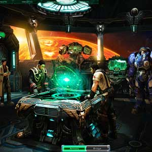StarCraft 2: Wings of Liberty Pont de l'Hyperion