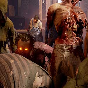 Un groupe de zombies