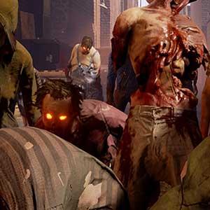 Un groupe de zombies