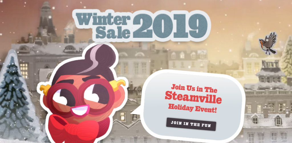 Prix Steam Winter Sale 2019