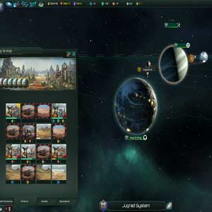 Système Stellaris Jugrad