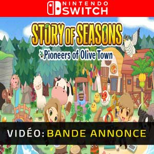 STORY OF SEASONS Pioneers of Olive Town Vidéo de la bande-annonce