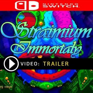 Straimium Immortaly Nintendo Switch Prices Digital or Box Edition