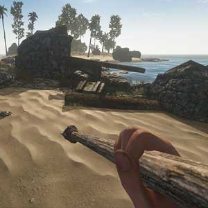 Chasse aux crabes dans Stranded Deep