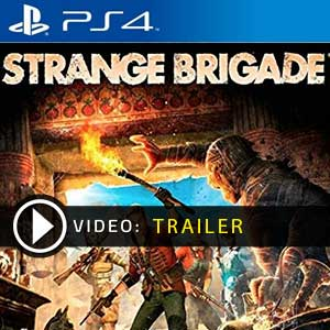 Strange Brigade PS4 en boîte ou à télécharger