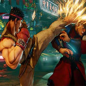 Street Fighter 5 Ryu M. Bison