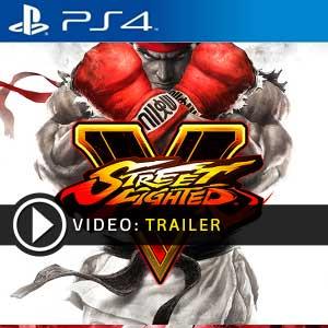 Street Fighter 5 PS4 en boîte ou à télécharger
