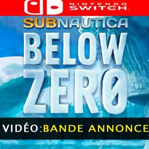 Subnautica Below Zero Nintendo Switch Bande-annonce Vidéo