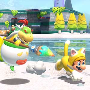 Super Mario 3D World + Bowser s Fury Nintendo Switch - Bowser et Mario