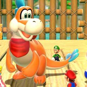 Super Mario 3D World Nintendo Wii U Personnages