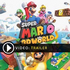 Super Mario 3D World Nintendo Wii U en boîte ou à télécharger