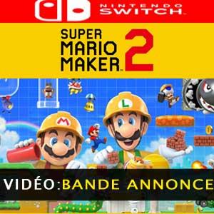 Vidéo de la bande-annonce de Super Mario Maker 2