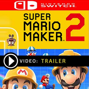Super Mario Maker 2 Nintendo Switch en boîte ou à télécharger