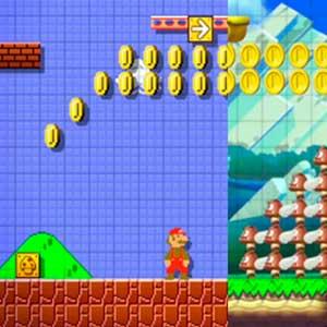 Super Mario Maker Nintendo Wii U Face à des ennemis