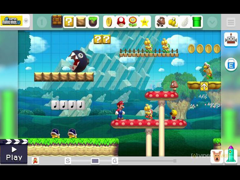 Acheter Super Mario Maker Nintendo Wii U Download Code Comparateur ...