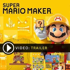 Super Mario Maker Nintendo Wii U en boîte ou à télécharger