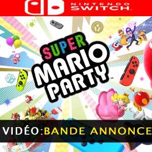 Super Mario Party Nintendo Switch bande-annonce vidéo