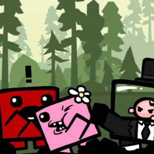 Super Meat Boy PS4 Personnages