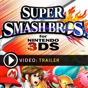 Super Smash Bros Nintendo 3DS en boîte ou à télécharger