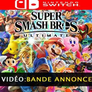 Super Smash Bros Ultimate Nintendo Switch bande-annonce vidéo
