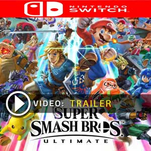 Acheter Super Smash Bros Ultimate Nintendo Switch comparateur prix