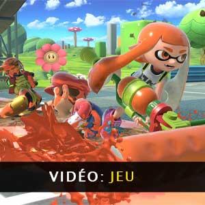 Super Smash Bros Ultimate Nintendo Switch vidéo de gameplay