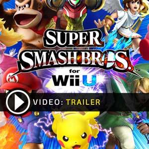 Super Smash Bros Nintendo Wii U en boîte ou à télécharger