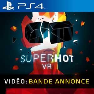 SUPERHOT VR PS4 Bande-annonce vidéo