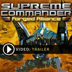 Acheter Supreme Commander Forged Alliance Clé Cd Comparateur Prix