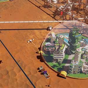 futuristic space dome
