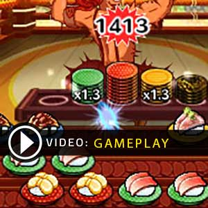 Sushi Striker The Way of Sushido Nintendo 3DS vidéo Gameplay