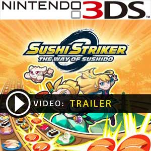 Sushi Striker The Way of Sushido Nintendo 3DS Comparateur Prix en boîte ou à télécharger