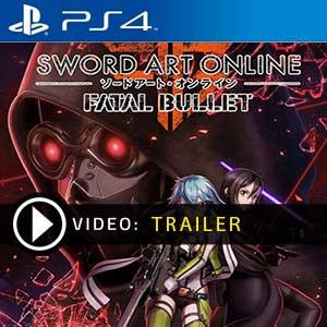 Acheter Sword Art Online Fatal Bullet Collector PS4 Code Comparateur Prix