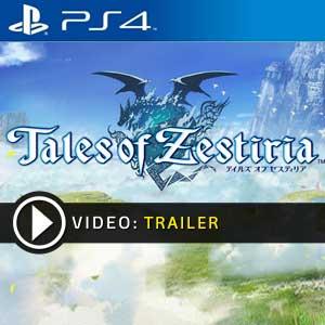 Tales Of Zestiria PS4 en boîte ou à télécharger