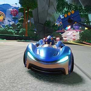 L équipe Sonic Racing Sonic le Hérisson