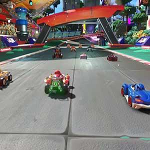 Les personnages de Team Sonic Racing