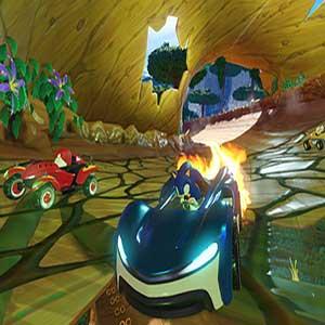 Les power-ups de Team Sonic Racing