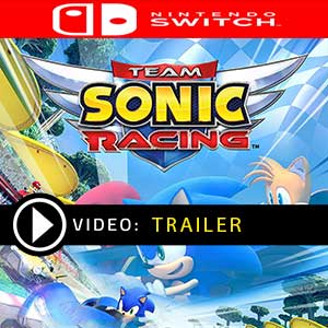 Team Sonic Racing Nintendo Switch en boîte ou à télécharger