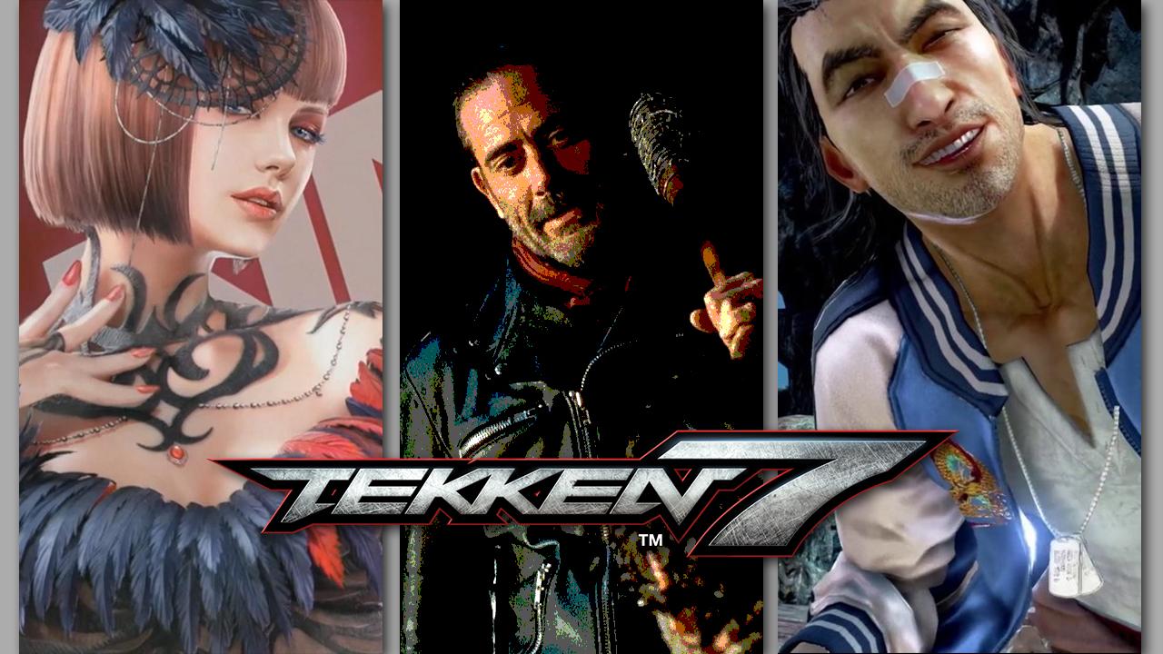 Tekken 7: Negan, Anna Williams, Lei Wulong
