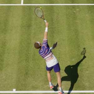 Tennis World Tour 2, terrain en gazon