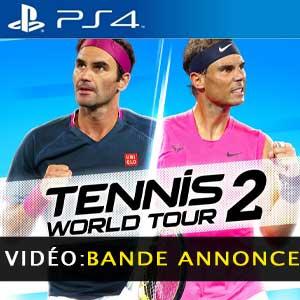 Vidéo de la bande-annonce du Tennis World Tour 2 PS4