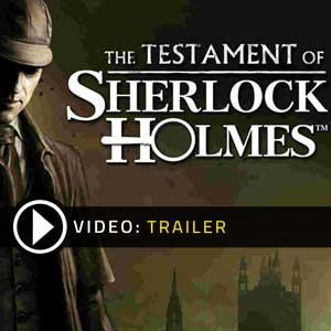 Acheter Le Testament de Sherlock Holmes Clé CD Comparateur Prix