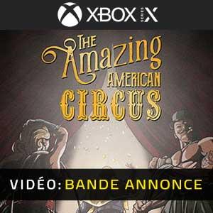 The Amazing American Circus Xbox Series Vídeo En Tráiler