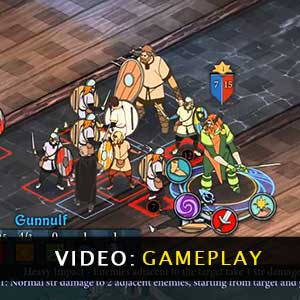 The Banner Saga Gameplay Video