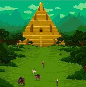Pyramide enrance