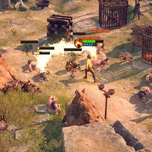 Système de combat The Dwarves