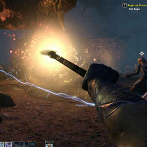 The Elder Scrolls Online PS4 Bataille
