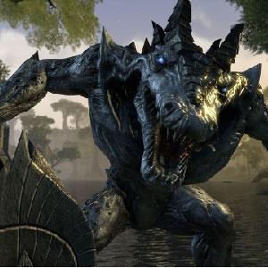 The Elder Scrolls Online Morrowind Daedroth
