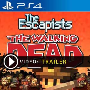 The Escapists The Walking PS4 en boîte ou à télécharger